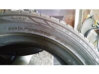 185 55 15 tyre as new
