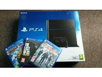 PlayStation 4 Console & Games, *ALL AS NEW* 1 Week old.