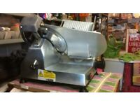 """BUFFALO STAINLESS STEEL DELI 12"""" / 300 MM BLADE MEAT SLICER - MODEL CD 279 - GOOD CONDITION"""