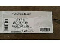 You me at six tickets x 2 London Alexandra Palace
