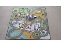 Car Toy Mat from Ikea, excellent condition, like new, £10.
