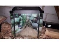 💦 Corner fish tank with all accessories 💦