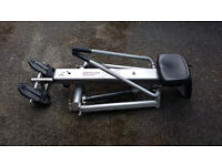 Rowing Machine, foldable for storage