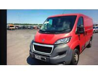 2014 Peugeot Boxer SWB 122000 miles with damage to rear
