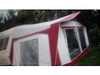 Bradcot caravan awning