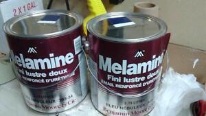 peinture mélamine alkyde benjamin moore, bleu nébuleux (valeur de 60 $+ tx)
