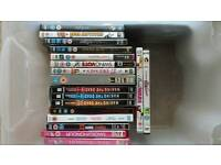 Girls DVD's. Mostly teen and chic flicks