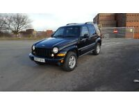 2007/57 JEEP CHEROKEE SPORT 2.8CRD AUTO, BLACK, 12 MOT, CLEAN 4X4 **PX WELCOME**