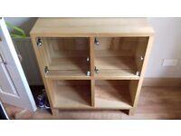 IKEA storage shelves