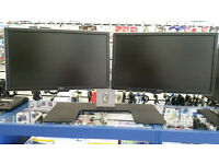 DELL Dual Stand with TWO 22'' monitors with all cables