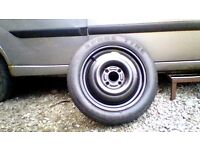 ford focus space saver tyre