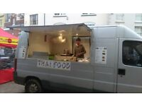Catering van, Burger van, Street food business
