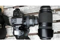 Minolta Dynax 500si. Camera