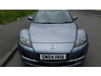 2005 MAZDA RX 8 PETROL FULL YEAR MOT EXCELENT CONDITION