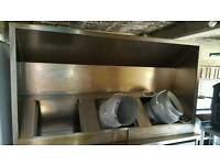 Commercial Extraction Hood.