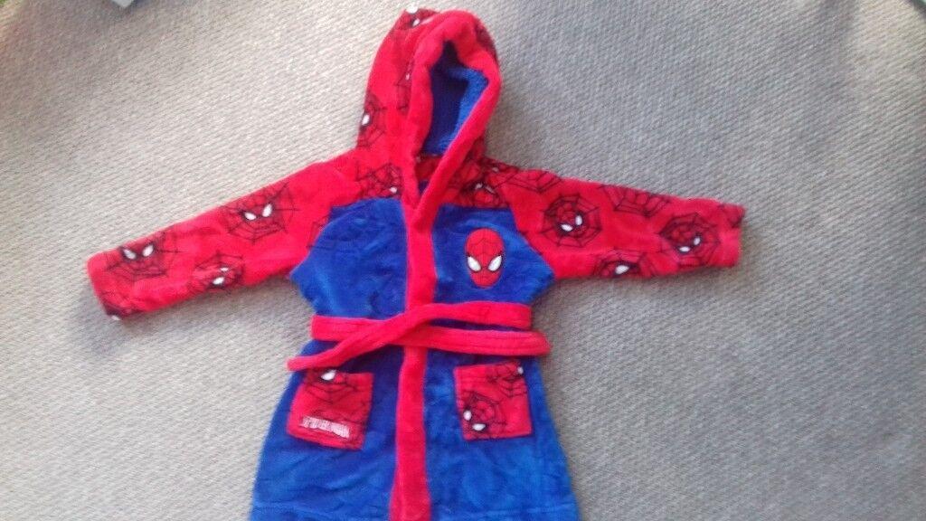 Marvel Spiderman Dressing Gown 18-24 Months | in Plymouth, Devon ...