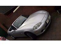 Mazda MX5 1.8 MK2a Convertible 2003 (Angels Edition) - Sunlight Silver