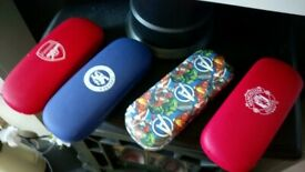 🤓🎁Kids glasses cases - Arsenal, Chelsea, Man Utd (Avengers Sold)