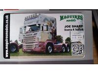 WSI Scania R Topline Streamline Joe Sharp