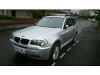 BMW X3 3.0D Auto M sport