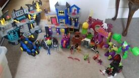 JOB LOT OF BATMAN IMAGINEXT