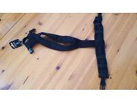 Dog-games fleece size 3 harness black