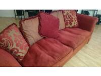 Sofa Large Red