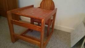 High/kids chair