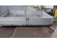 11ft pick up body of ldv but can be adapted to fit other pickups