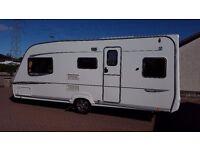 2005 ABBEY VOGUE GTS 516. 5 berth caravan