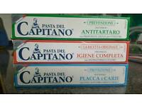 "Tooth paste"" Pasta del Capitano"""