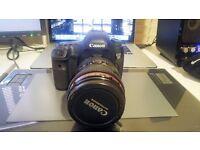 Canon 5D mk iii + charger, batteries, soft case bag. (Optional 24-105mm f/4 lens)