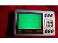 Digital Quran iQ604 with battery and power supply, The Holy Quran