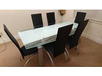 New Glass Designer Dining Table
