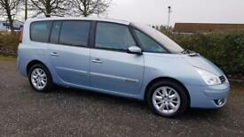 RENAULT GRAND ESPACE 2.0 dCi 150 Dynamique 5dr Top Spec Fully Warranted & Serviced (blue) 2009