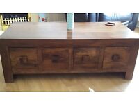 Dakota Coffee Table, TV Unit and Nest of Tables