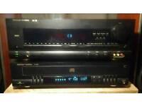 Harmon/Kardon AVR 200 Amplifier + FL8300 CD 5 Disc player