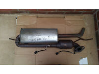 SMART CAR FORTWO 2007 ON WARDS 1000CC PETROL EXHAUST WITH CATALYTIC CONVERTER AND SENSORS