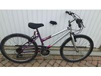 Girls bike with gears. £25