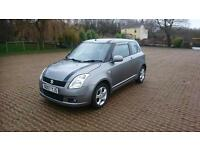 SUZUKI SWIFT 1.5 GLX 3dr (grey) 2007