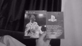 Fifa 18 PS4 with packs