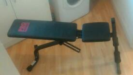 Adjustable sit up / weights bench