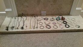Selection of handmade jewellery