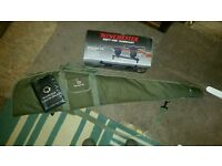 Sabre gun bag and Winchester sight vise
