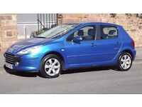 2007 Peugeot 307 1.6 5 Door Hatchback, Long MOT, Great Condition, Must See!