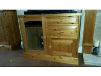 Pine Furniture. TV unit, Corner Unit & Sideboard / Cupboard.