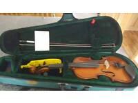 Violin stentor in case excellent