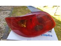 Peugeot back light new