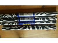 Zebra print Fablon