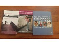 JOBLOT OF HIGHER EDUCATION UNI BOOKS FOR CHILDREN AND YOUNG PEOPLE AND MULTI AGENCY WORKING
